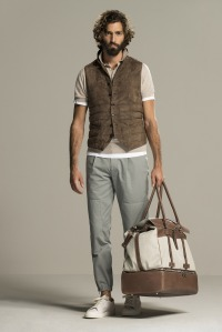 Look 29 - Brunello Cucinelli Spring 2016 Menswear